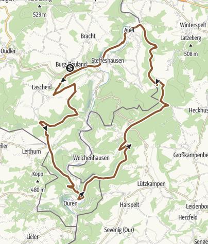 Map / MTB - Die 2-Länderroute