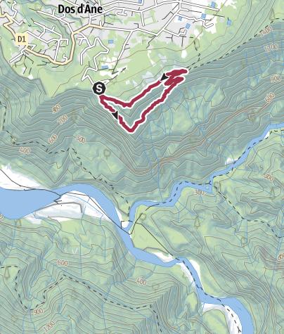 Karte / Cap Noir Panoramapfad