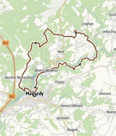 Map / MTB – Die Steinbrüche der Warche