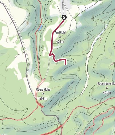Karte / Zustieg - Rotzollwand