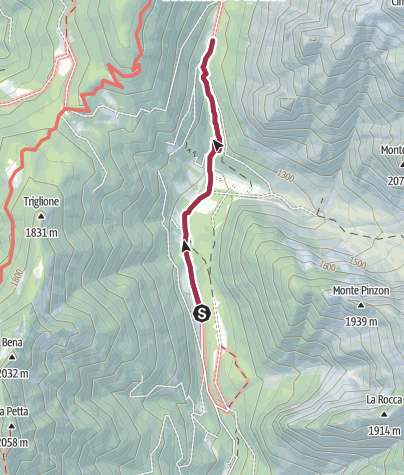 Map / Walk to Rifugio Ghedina - Malga Nambi