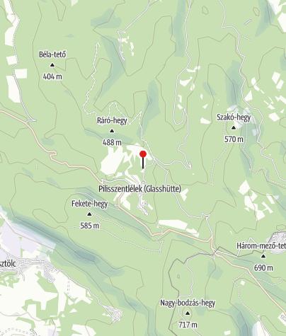Térkép / Pálos kolostorrom (Pilisszentlélek)