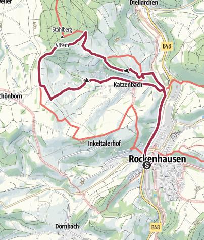 Karte / Katzenbacher Höhenweg