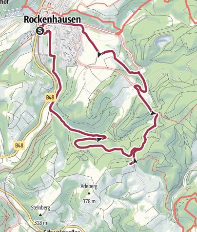 Karte / Rockenhausen- Orchideenweg