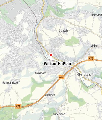Karte / Bahnhof Wilkau-Haßlau