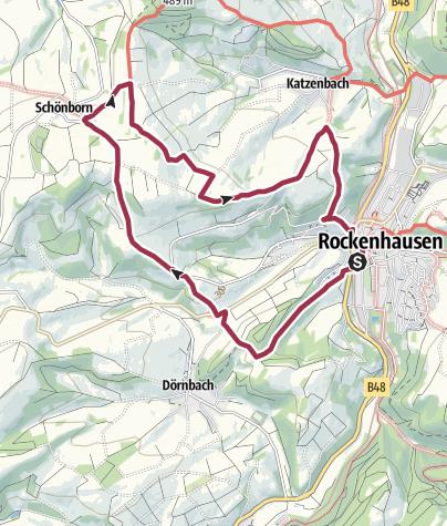 Karte / Rockenhausen - Auf den Spuren der Römer