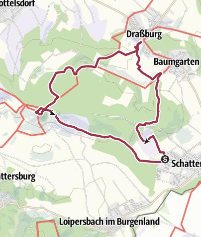 Térkép / Schattendorfer Wald am Berg 1