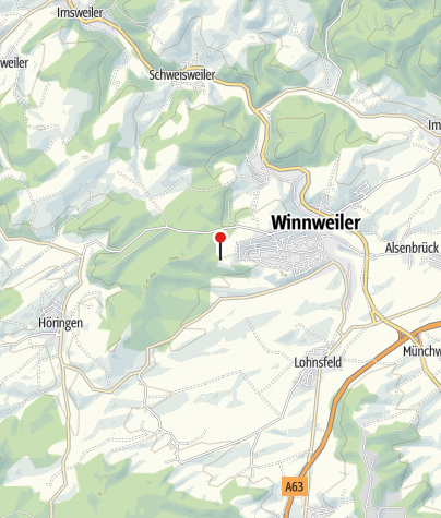 Karte / Hütte Pfälzerwald-Verein Winnweiler (Igelborner Hütte)