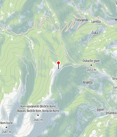 Map / Katun Stavna