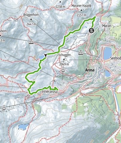 Map / Arlen forest trail