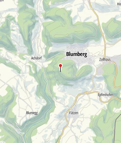 Karte / Schutzhütte mit Grillplatz am Buchberg