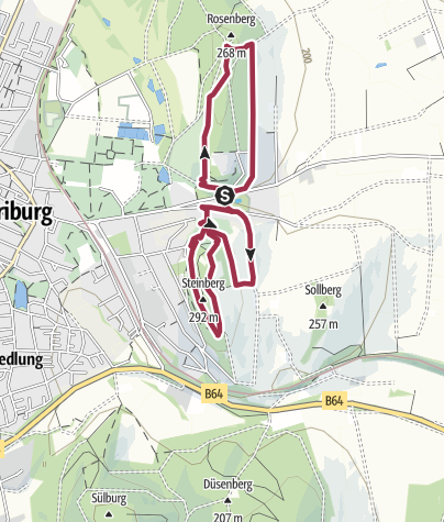 Karte / Kaleidoskopweg
