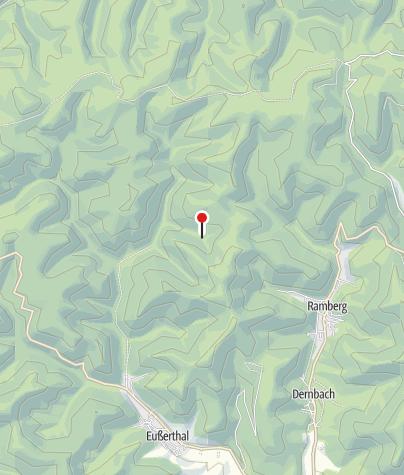 Karte / Hütte Pfälzerwald-Verein Böchingen (im Pottaschtal)