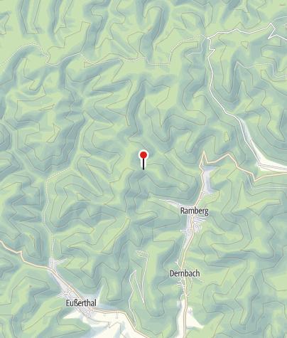 Karte / Schutzhütte am Barebäm