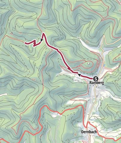 Karte / Unterwegs im Bürstenbinderland