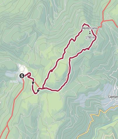 Map / Bergweiler Gfrill - Hornalm