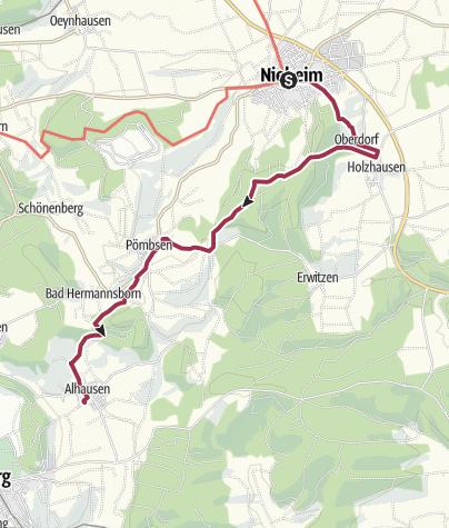 Karte / Friedrich-Wilhelm-Weber-Weg