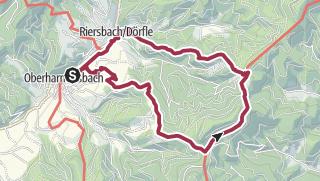 "Map / Premiumweg ""Harmersbacher Vesperweg"""