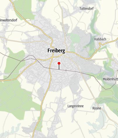 Karte / Freiberg