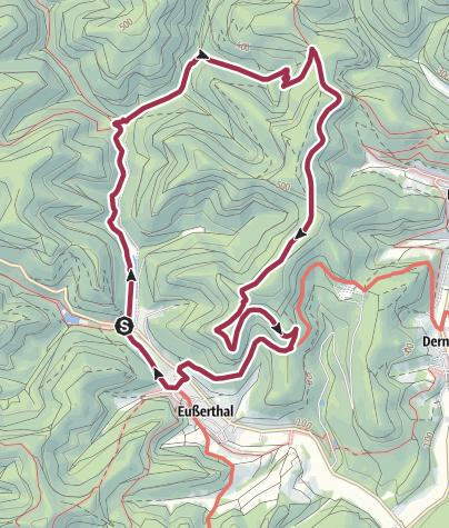 Karte / Eine Felsplatte mit Geschichte: der Schwörstein