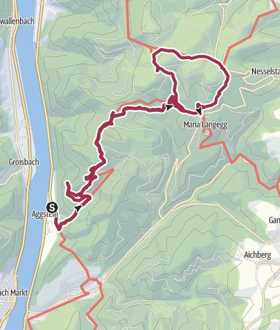Térkép / Aggstein-Maria Langegg kolostor túra