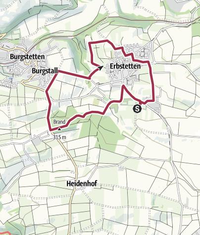 Karte / MVB Maifest ToGo ===> KURZTOUR Erbstetten