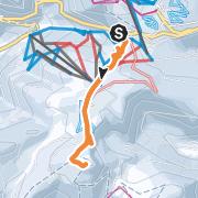 Mapa / Skitour: Grafenmatt  -  Herzogenhorn (7. April 2021)