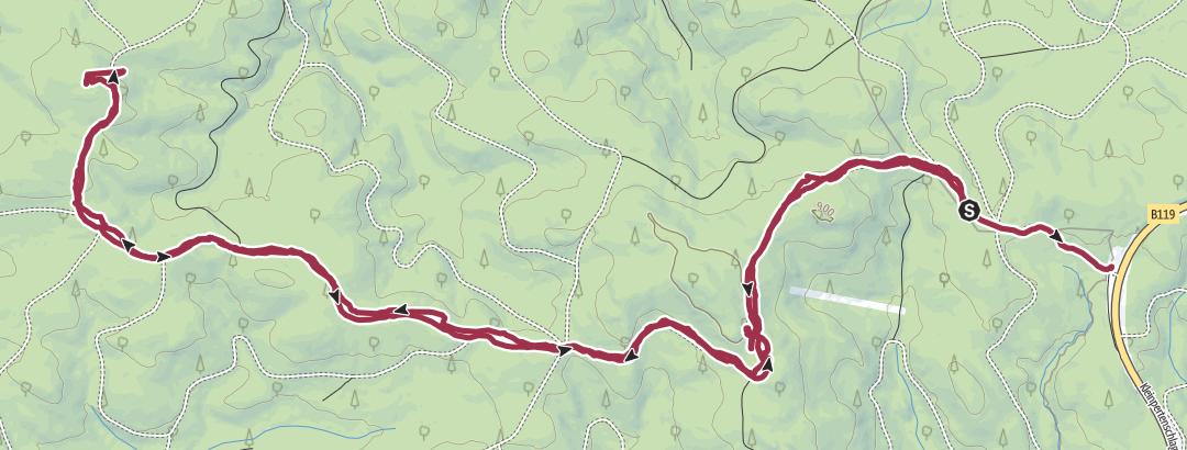 Mapa / Wanderung am 28. Februar 2021 um 09:37