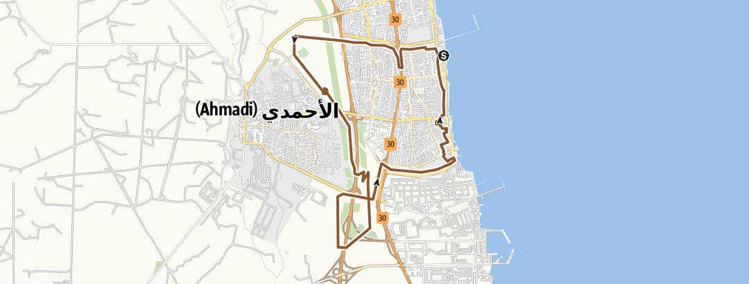 地图 / Fahaheel Apr 10, 2021