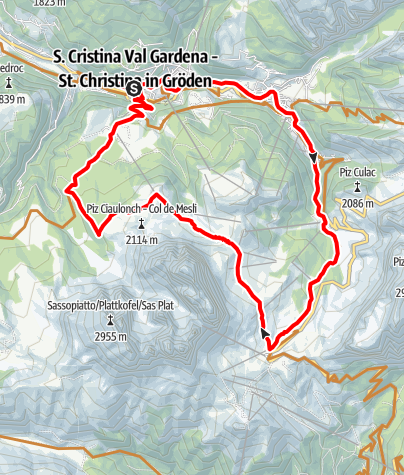 Cartina / Giro in bici alla Città dei Sassi