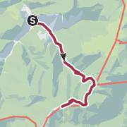 Karte / Reisalpe vom Schindeltal