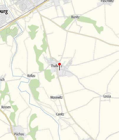 Karte / Information Thallwitz