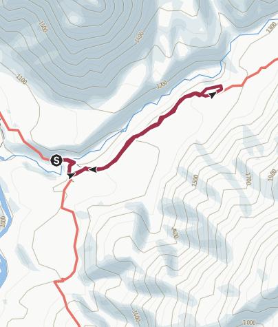 Mapa / Wasserfall San Pedro