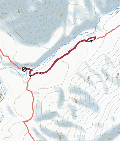 Karte / Wasserfall San Pedro