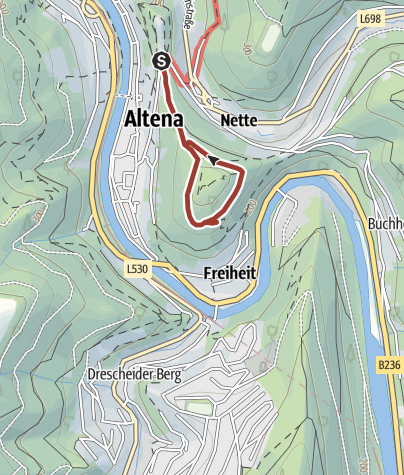 Map / History and Nature Trail Altena