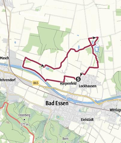 Karte / Schlösser-Rundweg