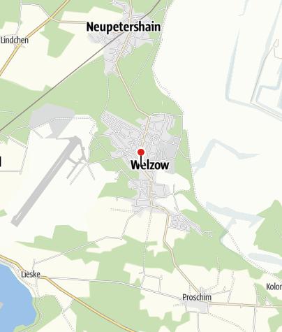 Karte / excursio Besucherzentrum Welzow