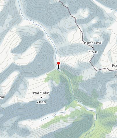 Karte / Refugio de Ordiso