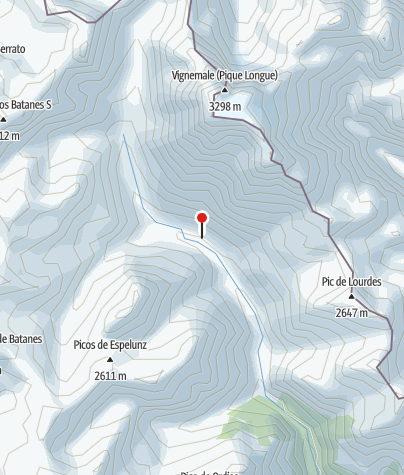 Karte / Refugio de Labaza