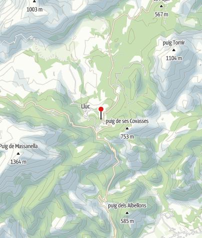 Karte / Refugi Son Amer