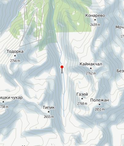 Karte / Hütte Demjanitsa