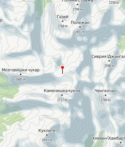 Karte / Tevno Ezero
