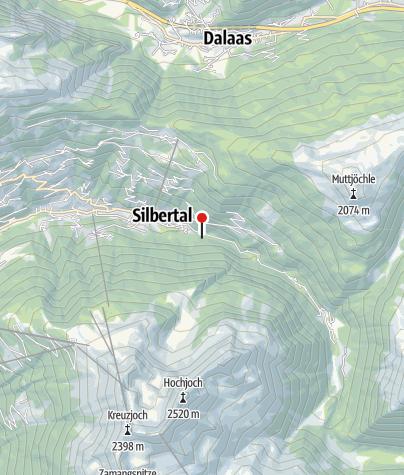 Karte / Holzpflockstiege