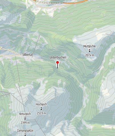 Karte / Teufelsbach-Sage
