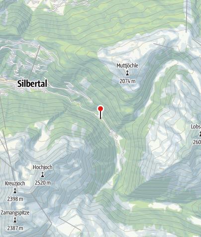 Karte / Hangelbalken