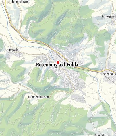 Karte / Rotenburg a. d. Fulda
