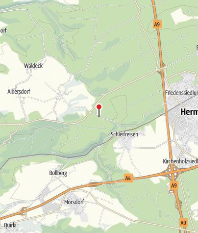Karte / Pechofen Zeitzgrund