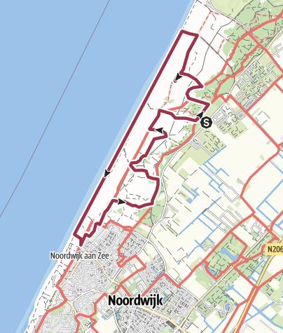 Map / Noordwijk Quality Coast Walk