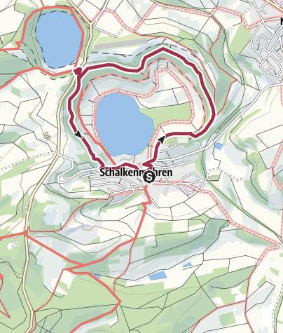 Karte / MICHELS Wellnesshotel - Maarerlebnis Rundweg 3