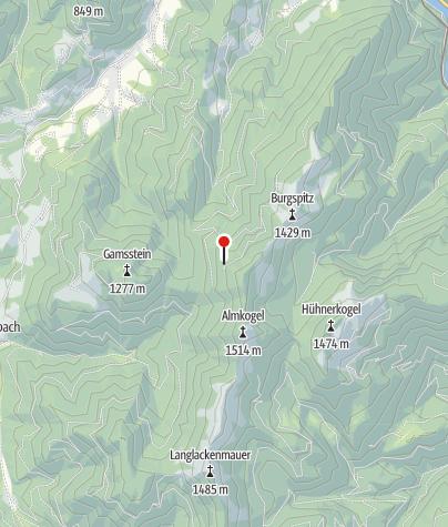 Karte / Ennserhütte 1295m